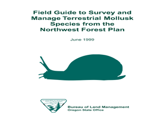 Thumbnail for Field Guide to Survey and Manage Terrestrial Mollusk Species from the Northwest Forest Plan