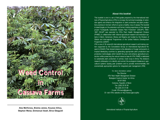 Thumbnail for Weed Control in Cassava Farms - IPM Field Guide for Extension Agents