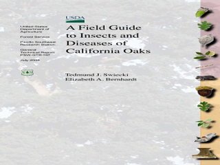 Thumbnail for A Field Guide to Insects and Diseases of California Oaks