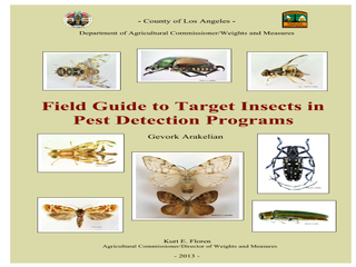 Thumbnail for Field Guide to Target Insects in the Pest Detection Program (Los Angeles, California, USA)